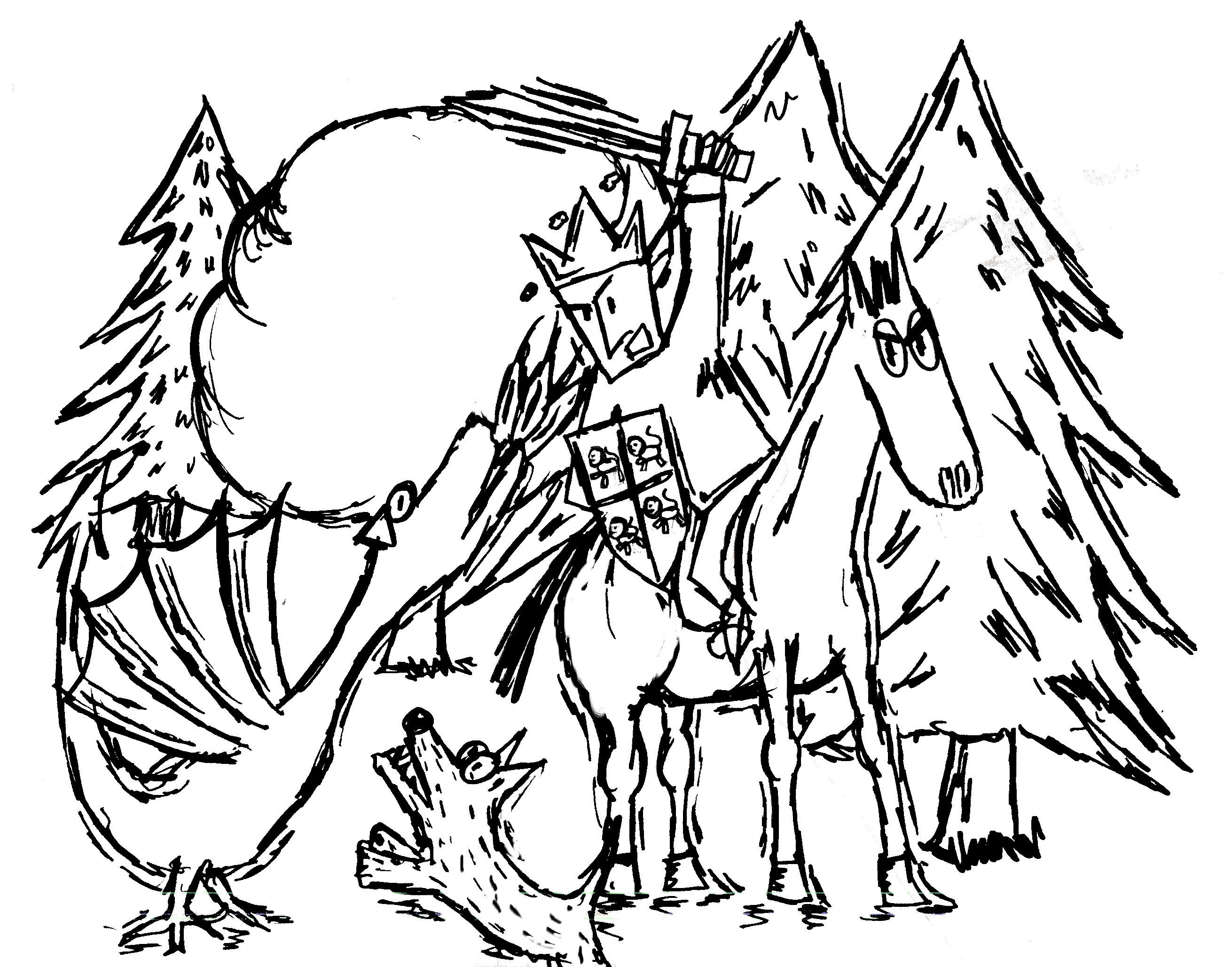 The Legend of Gelert – a story from Wales
