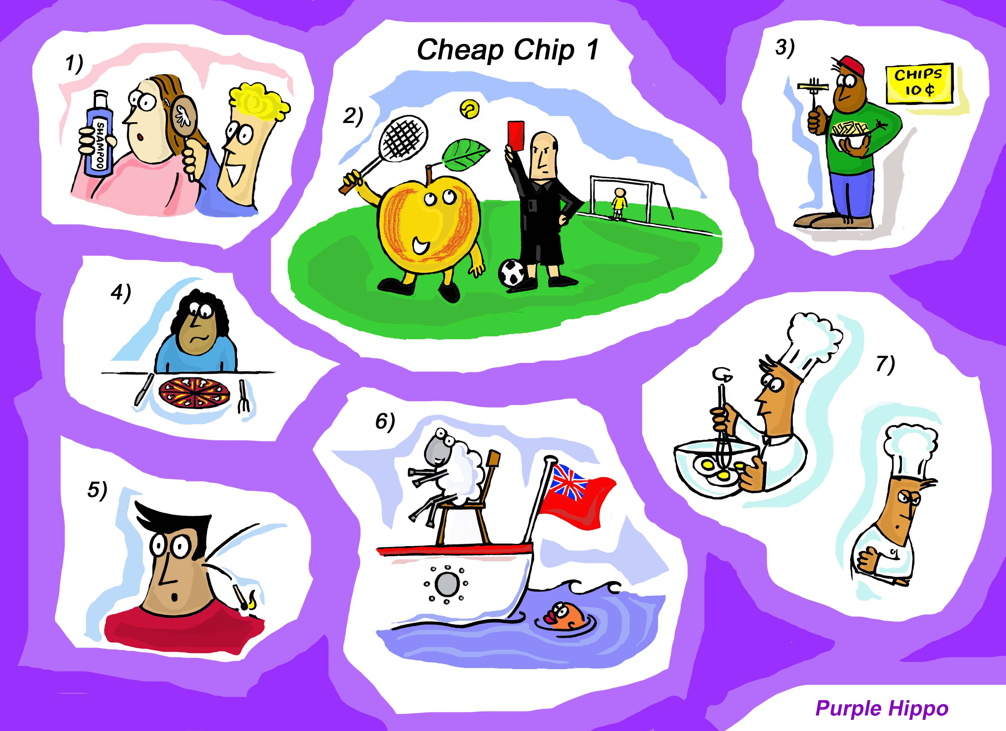 /i:/ /I/ Cheap Chip Pronunciation Poem and Activities