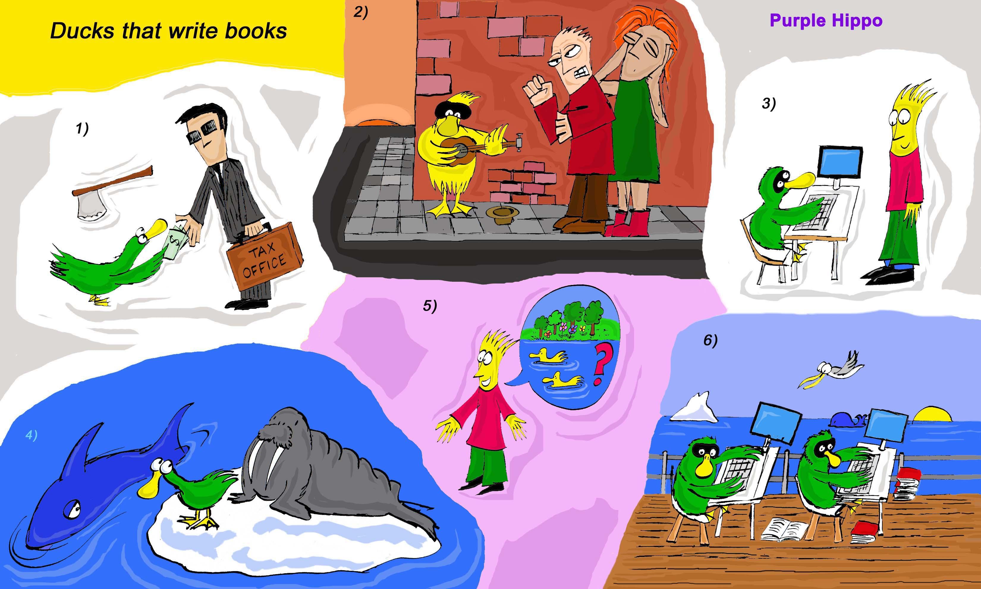 Ducks that write books: /sk/, /ks/, /sks/ pronunciation activities